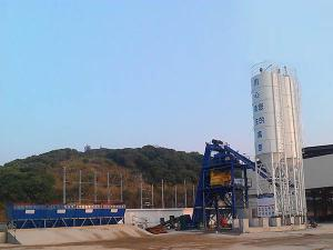 Central Mix Batch Plant with Hopper Lift