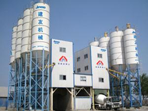 Central Mix Batch Plant with Belt Conveyor